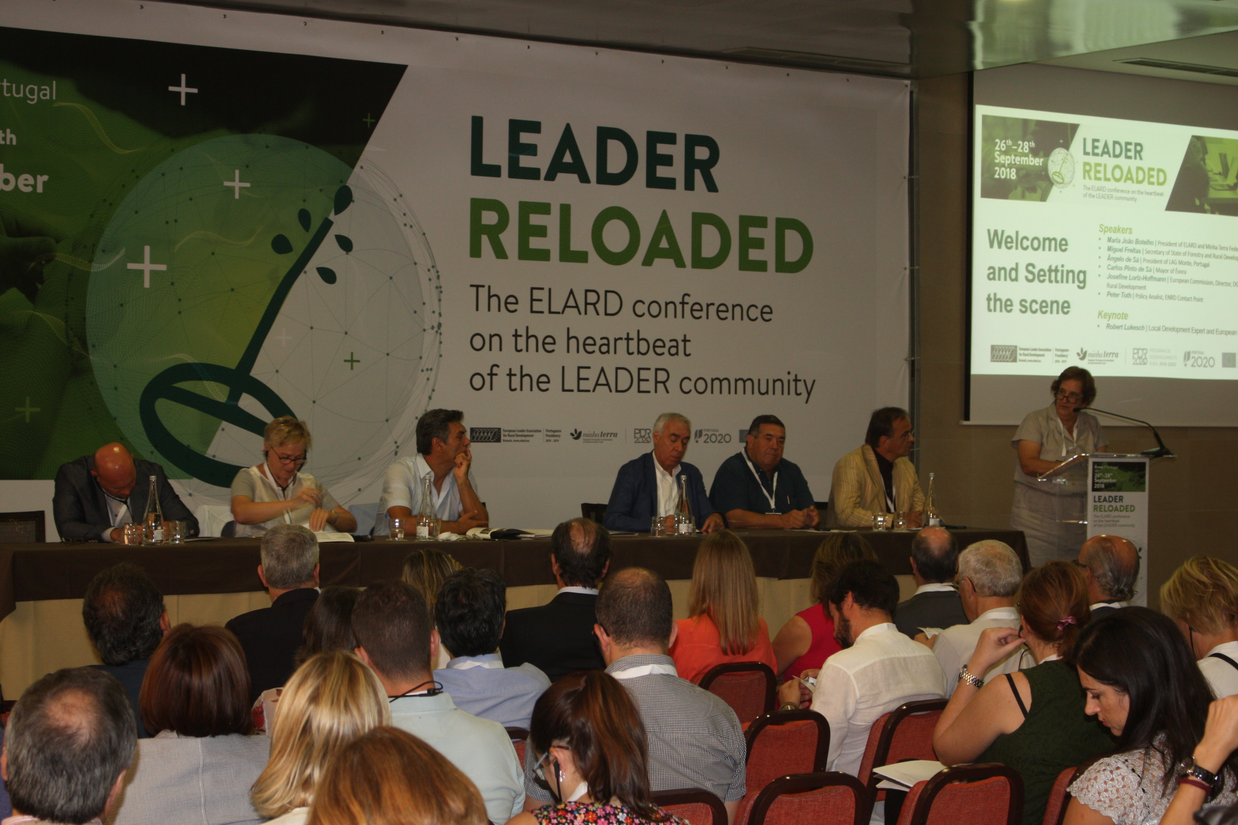 LEADER RELOADED - the ELARD conference on the heartbeat of the LEADER community